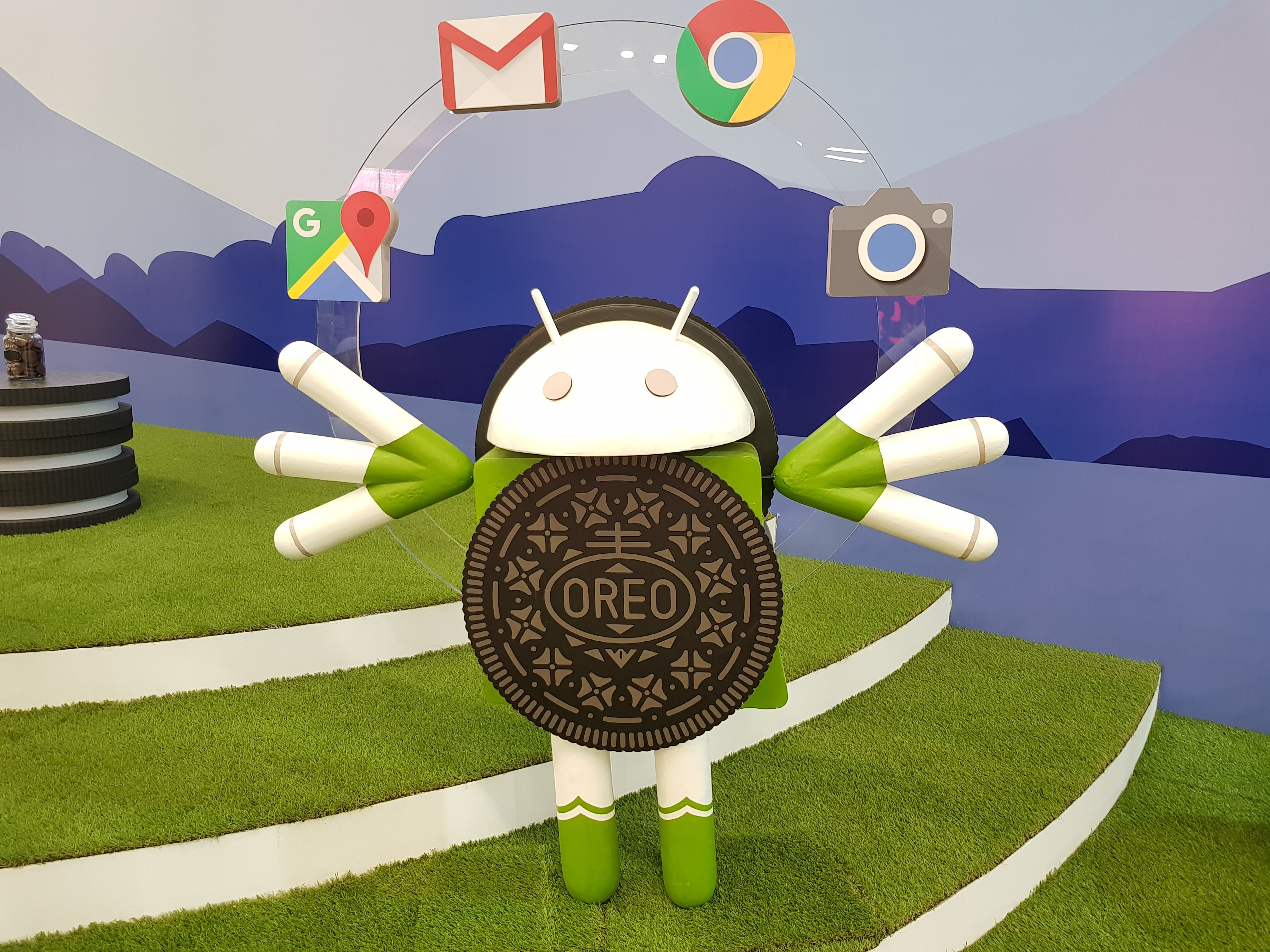 Android Oreo live