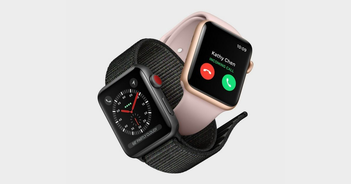 Apple Watch Series 3 FB feat