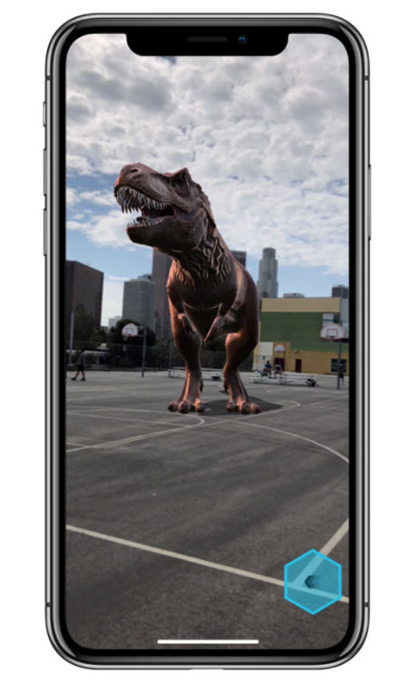 Apple iPhone X Augmented Reality