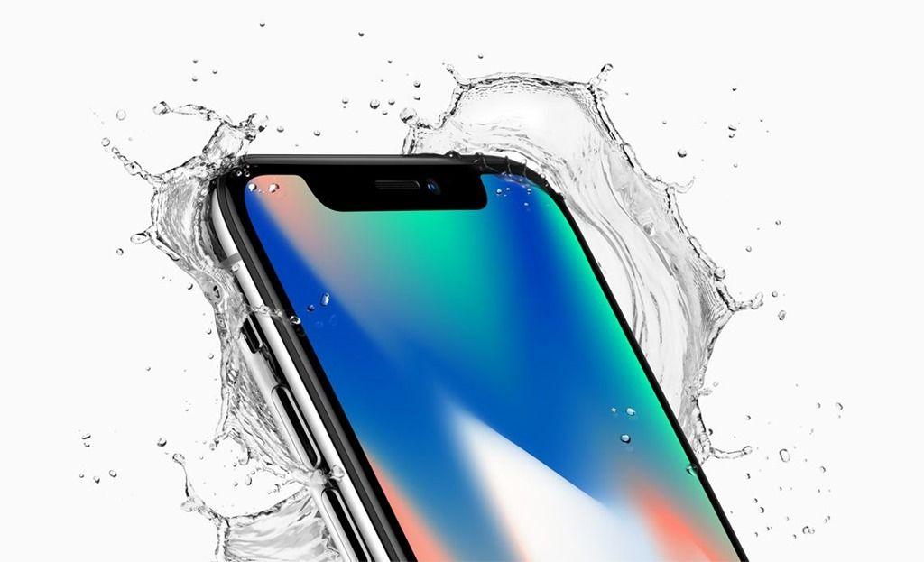 Apple iPhone X waterproof design