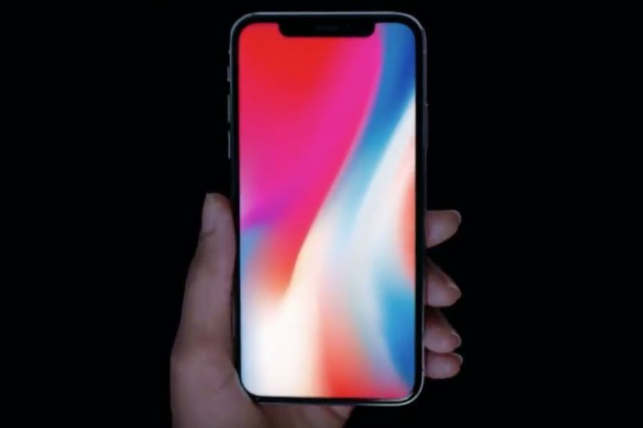 iPhone X full frontal