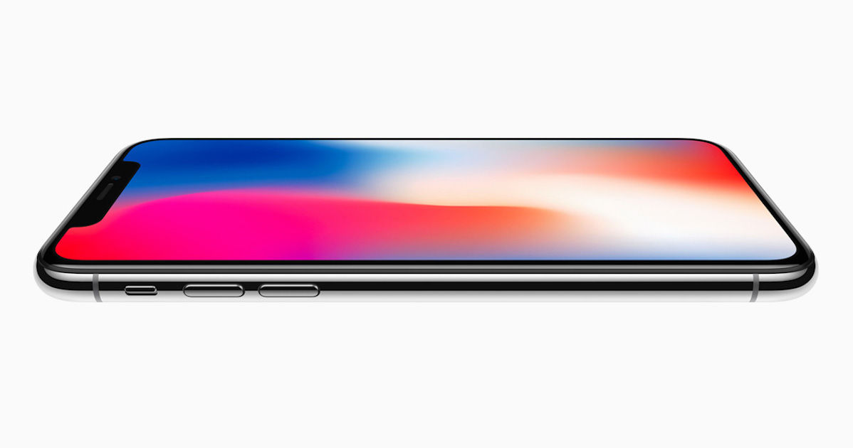 separation shoes 36e6d 177a7 Apple iPhone X with 5.8-inch OLED display and Face ID launched ...