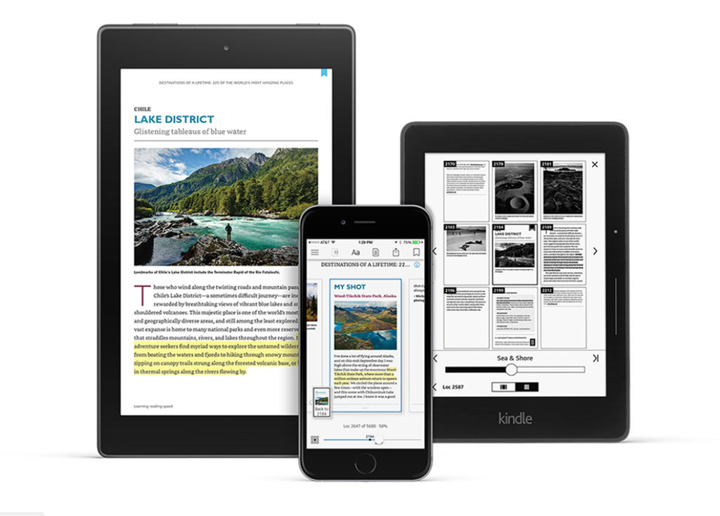Amazon announces all-new Kindle app for Android and iOS | 91mobiles com