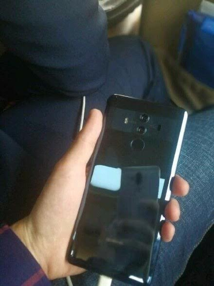 Huawei Mate 10 Pro's alleged live images reveal dual cameras