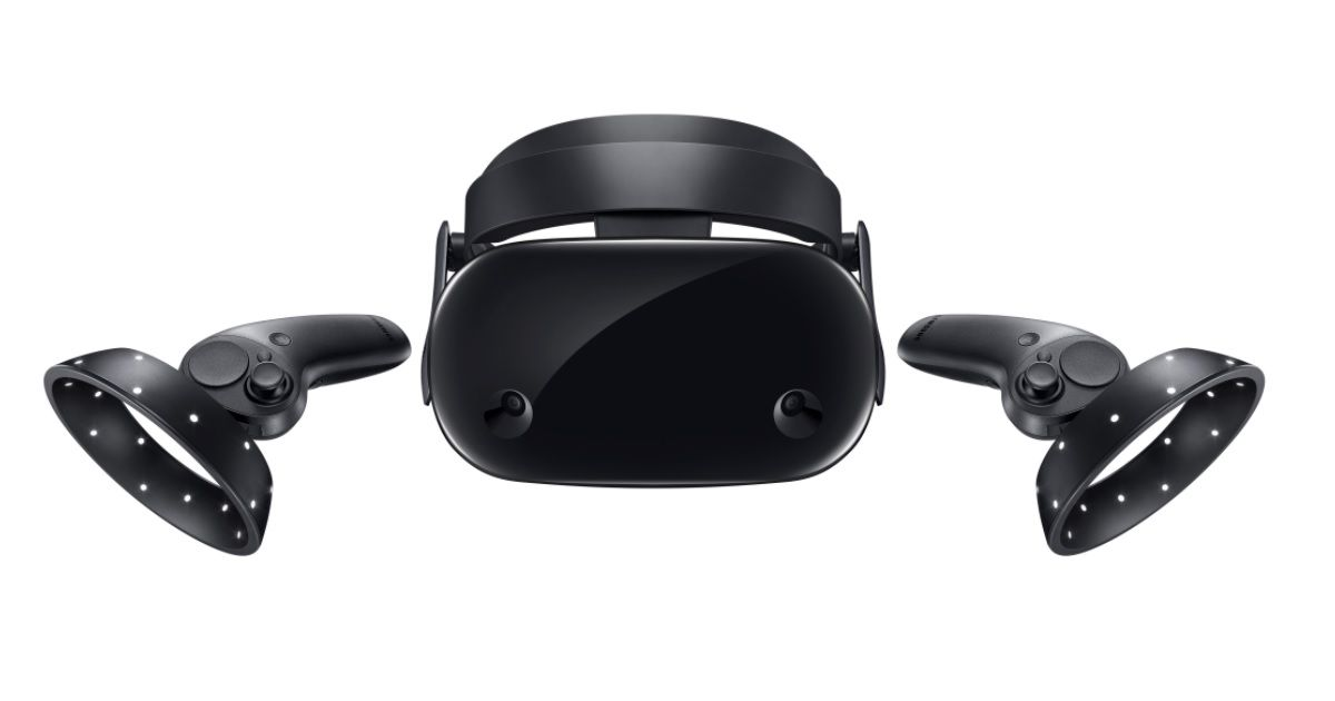Samsung Odyssey+ headset with SteamVR compatibility