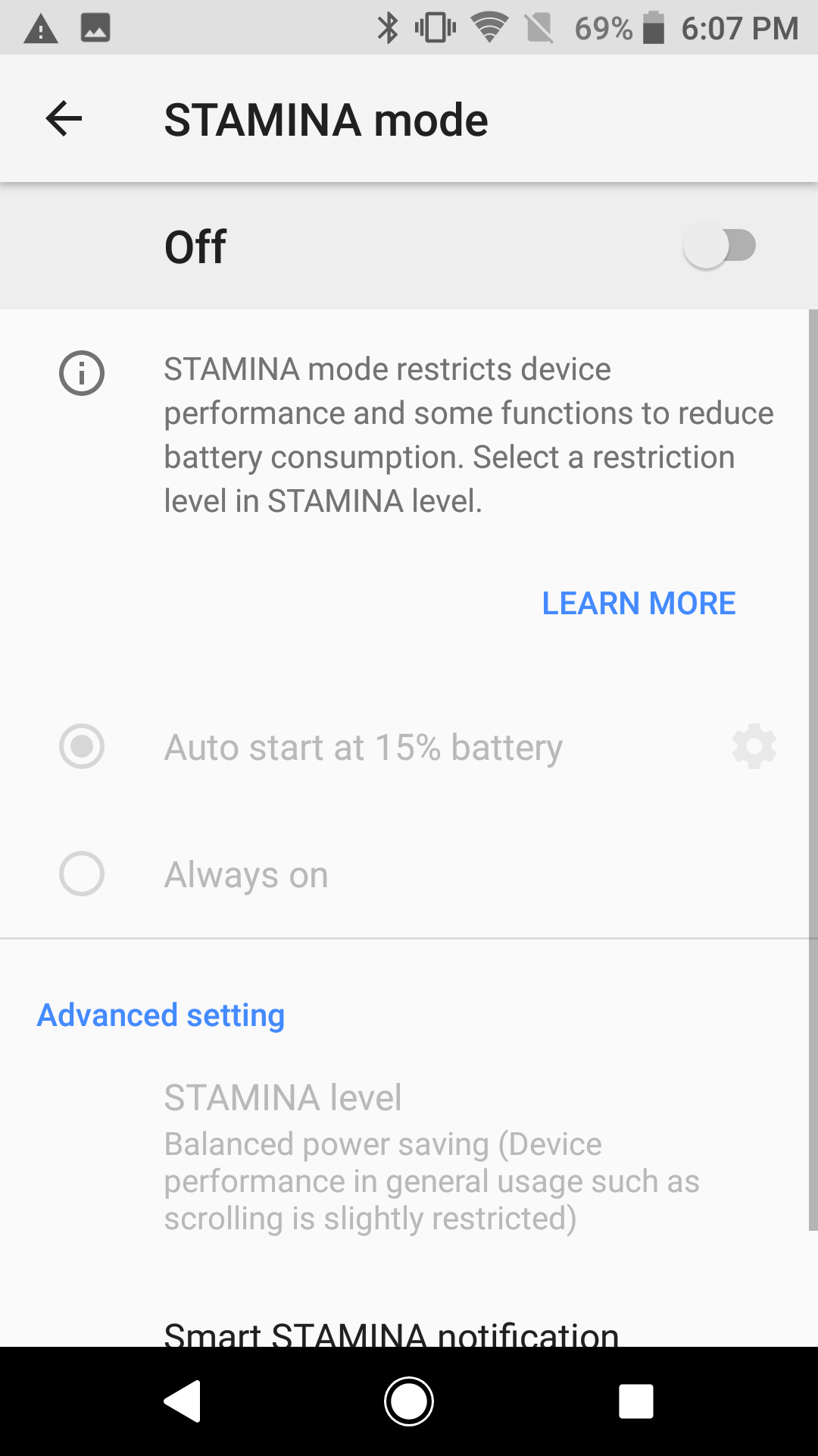 Sony Xperia XZ1 Battery 1