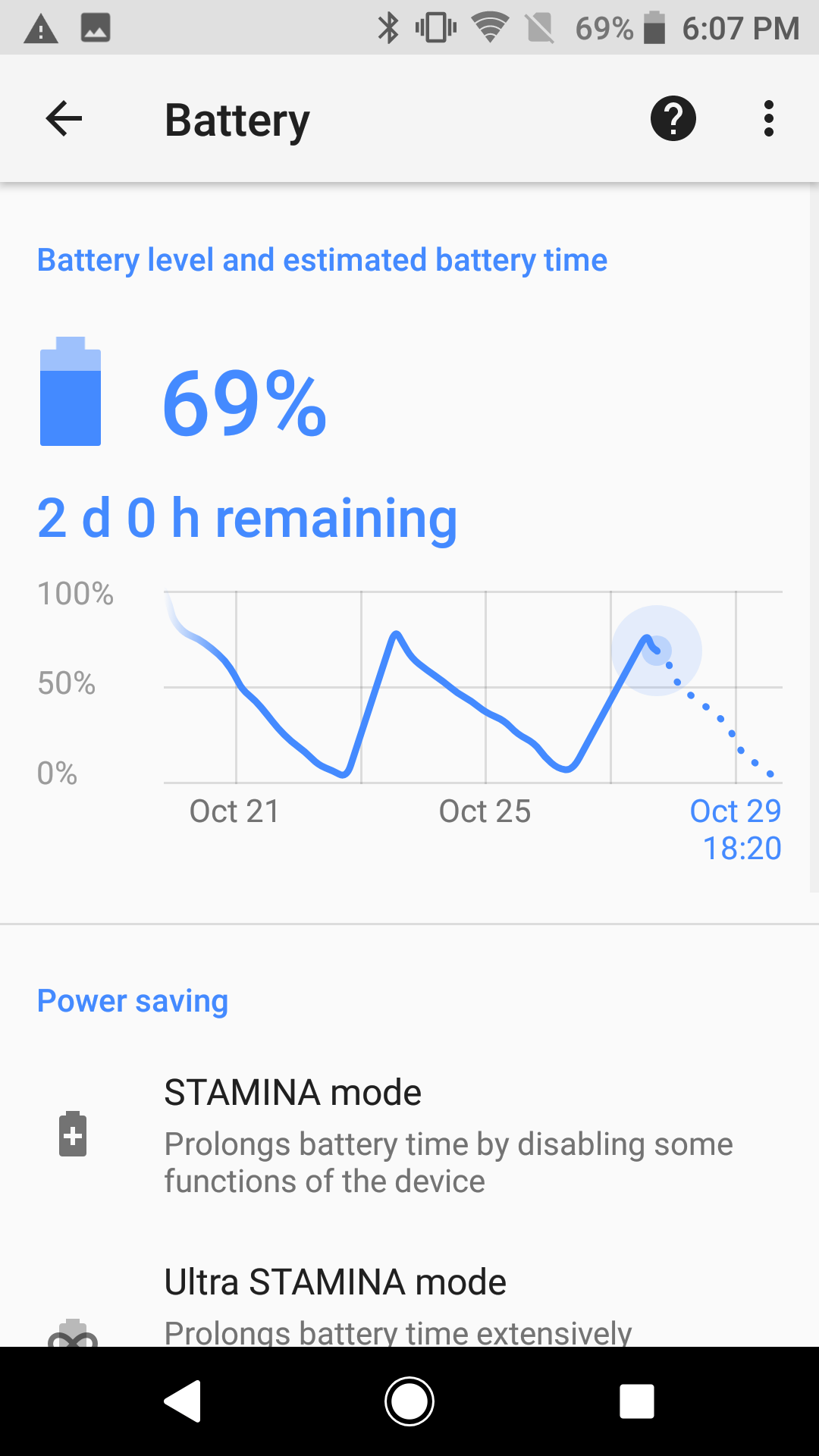 Sony Xperia XZ1 Battery 3