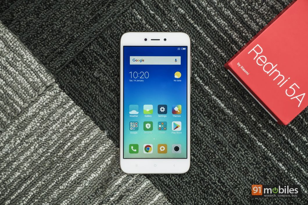 Xiaomi Redmi 5A unboxing and first impressions 91mobiles (16)