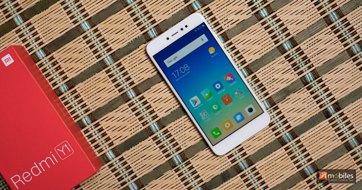 Xiaomi S Redmi Y1 And Redmi Y1 Lite To Go On Sale Today