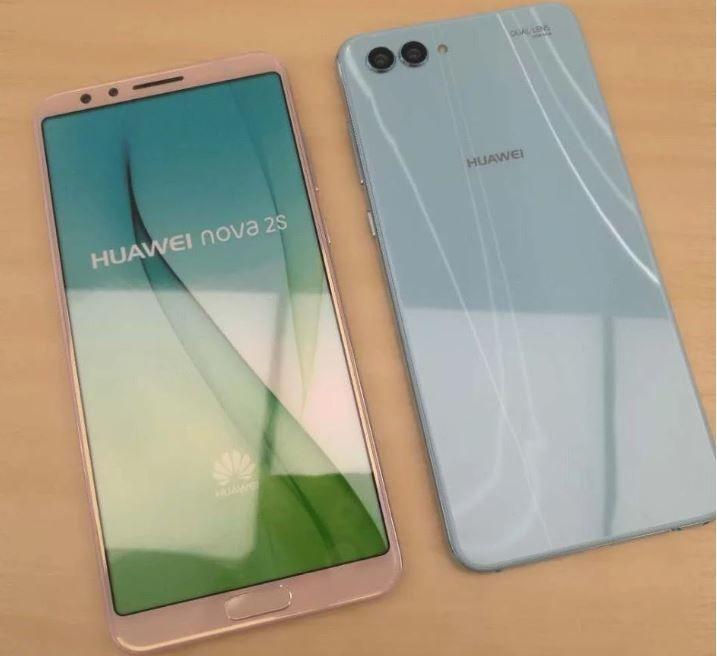 Huawei Nova 2S live leak