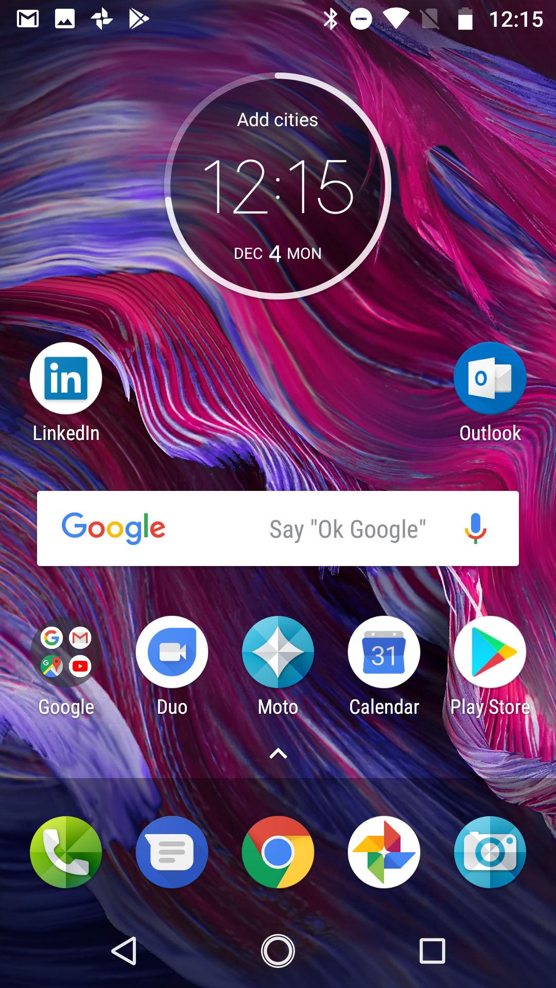 Moto X4 software 1