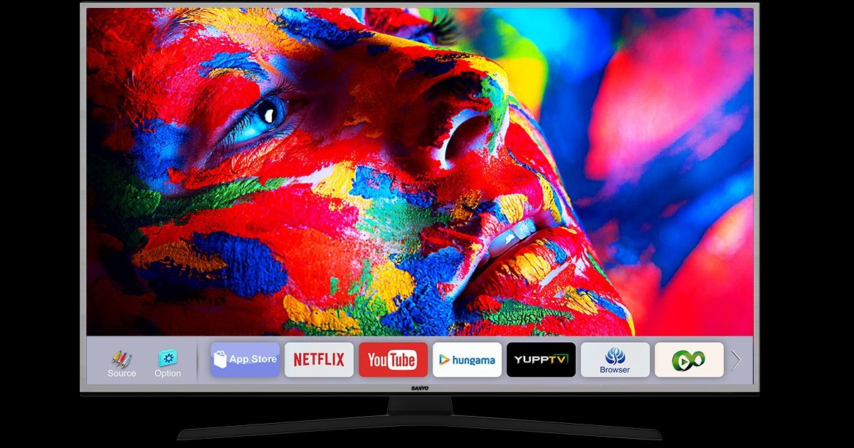 Sanyo launches its first 4K smart TVs in India, prices start