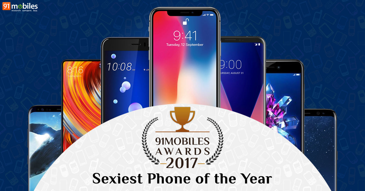 3edaf340669d 91mobiles Awards 2017  Sexiest Phone of the Year