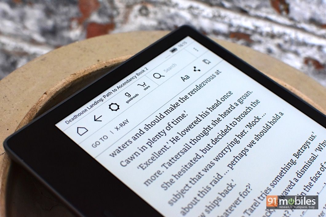 Amazon Kindle Oasis (2017) review: almost perfect