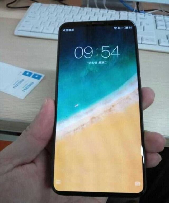 MEIZU 15 Plus with bezel-less display appears in new live