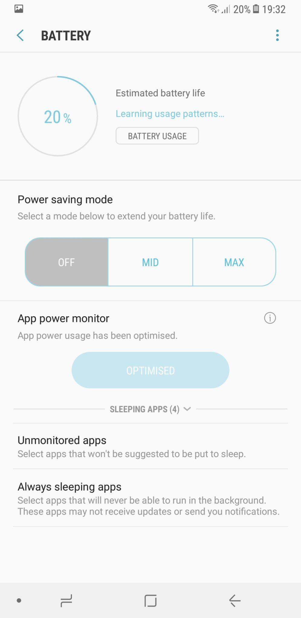 Samsung Galaxy A8 Plus battery 1