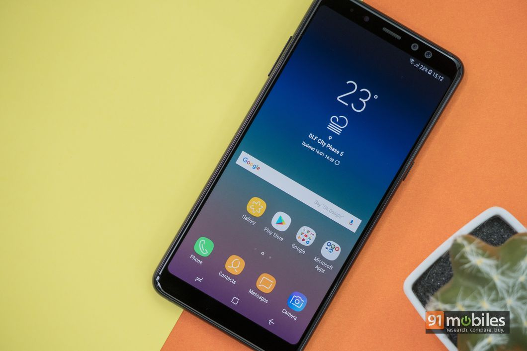 Samsung Galaxy A8+ review18