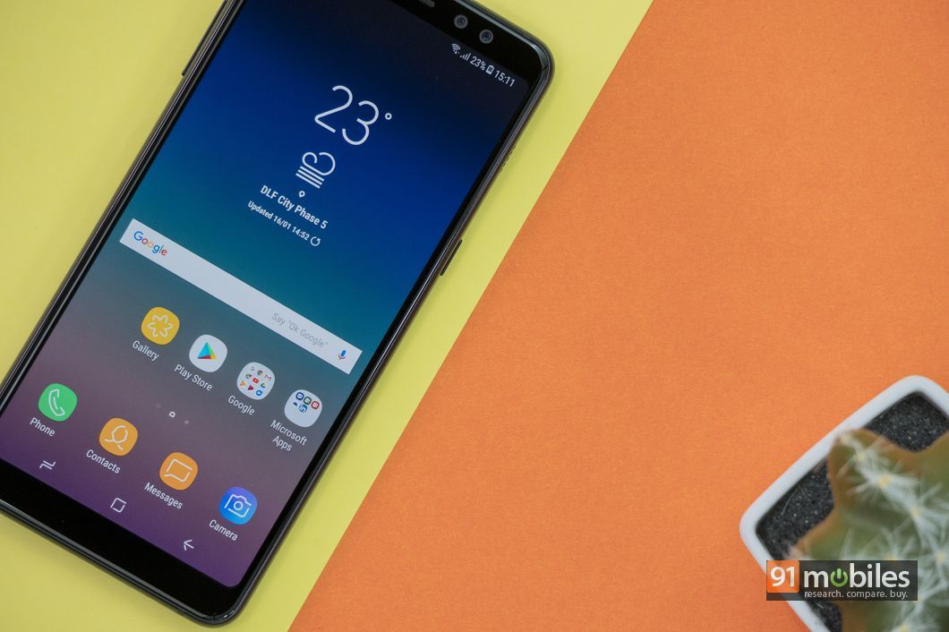 Samsung Galaxy A8+ review19