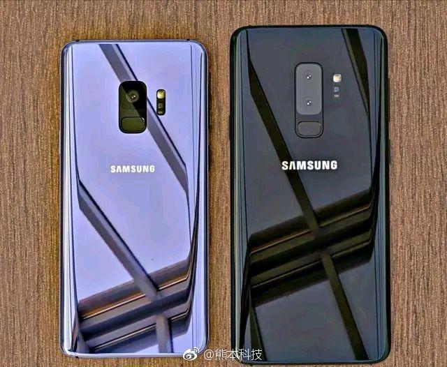 Samsung Galaxy S9 live