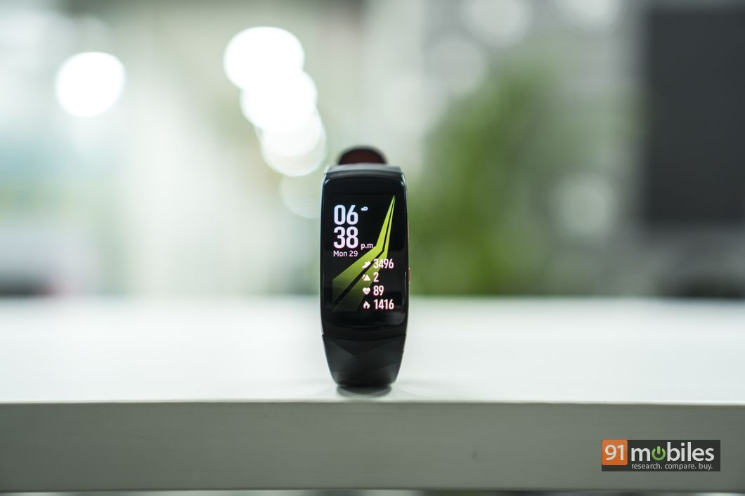 Samsung Gear Fit2 Pro review30