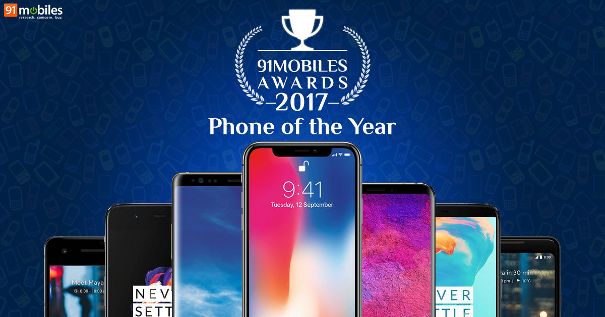 ca236e80aa78 91mobiles Awards 2017  Phone of the Year