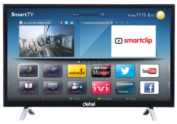 Detel launches range of LED TVs and smart Android-based TV