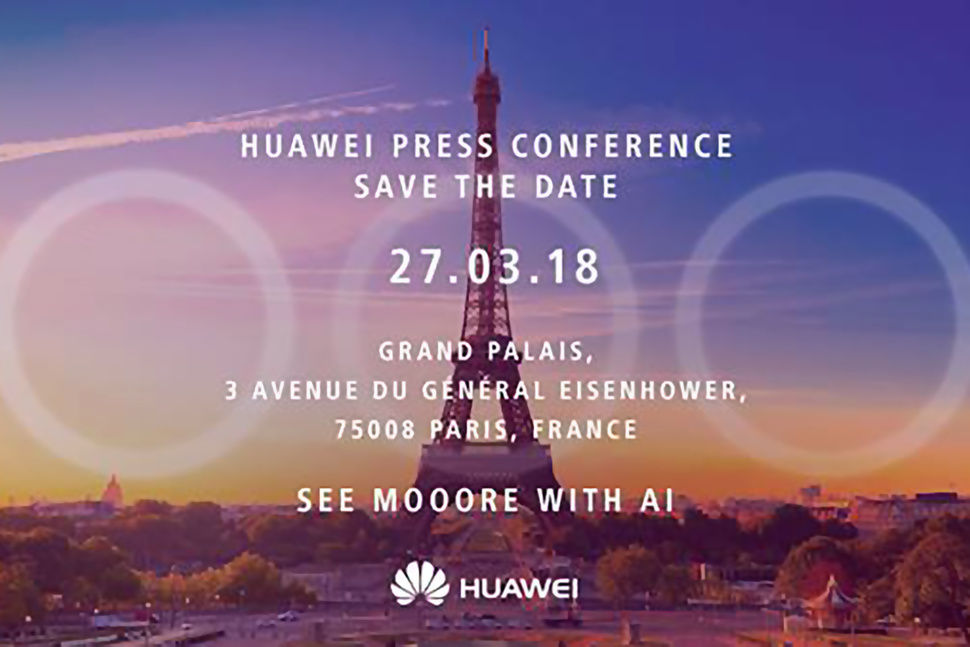 Huawei P20 or P11 launch invite