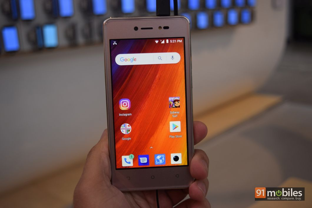 Lava Z50 first impressions - 91mobiles 01