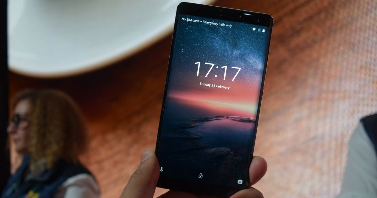 Nokia 8 Sirocco with Android One