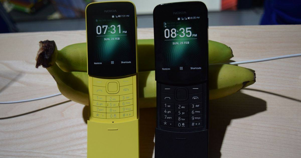 Nokia 8110 4G to get WhatsApp support in other countries | 91mobiles com
