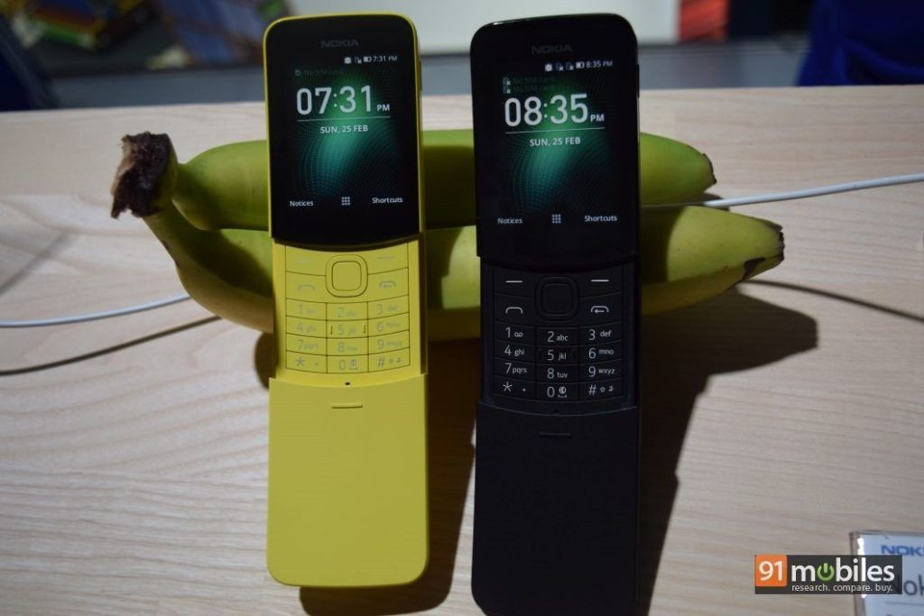 """bc038a637a091 """"The Nokia 8110 4G is a feature phone powered by Qualcomm s 205 Mobile  Platform and a 1"""