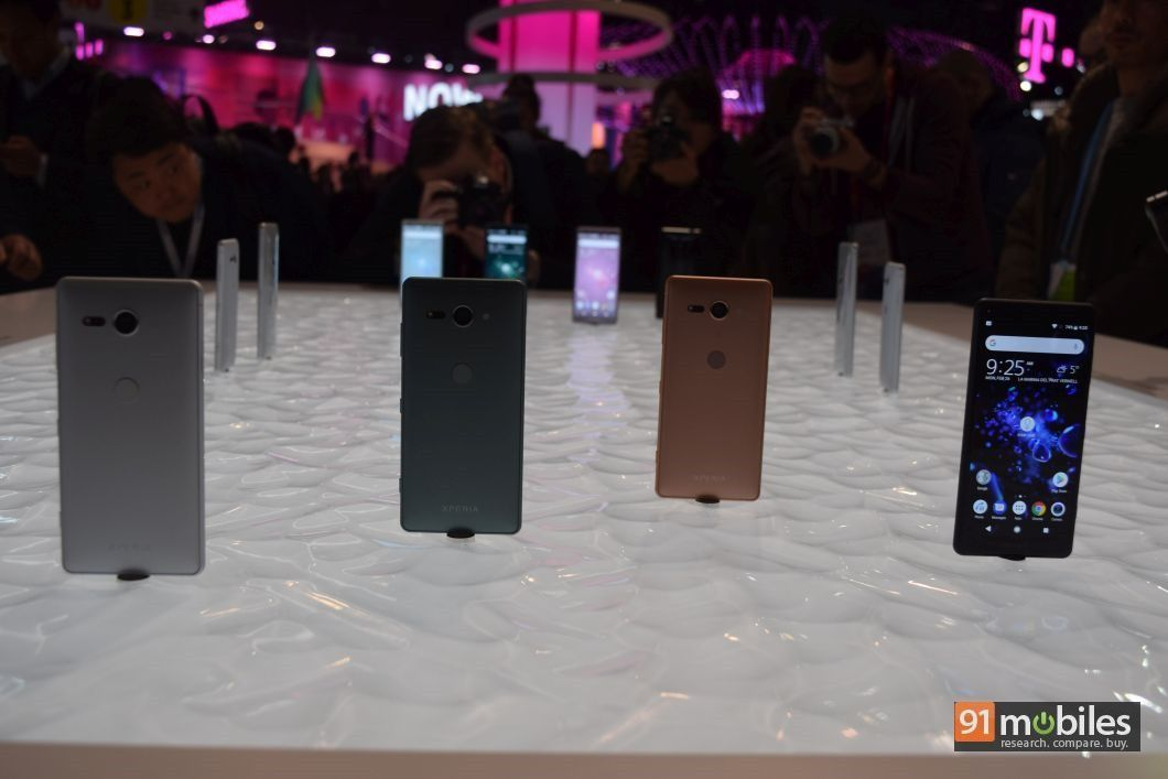 Sony Xperia XZ2 and XZ2 Compact first impressions: following