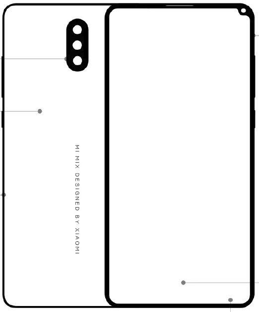 Xiaomi Mi Mix 2S sketch