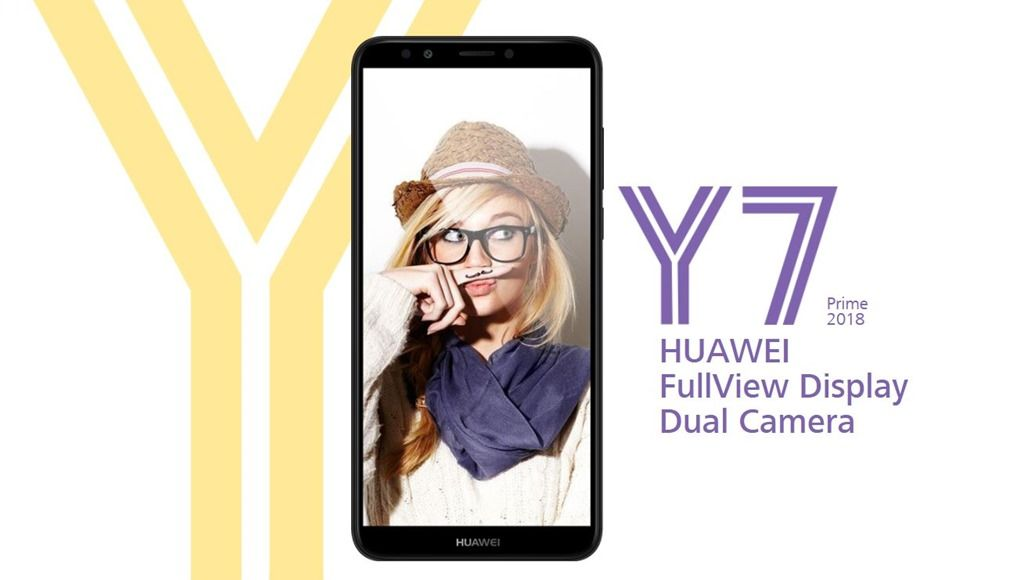 Huawei Y7 Prime 2018 with 6-inch HD+ display and dual rear cameras