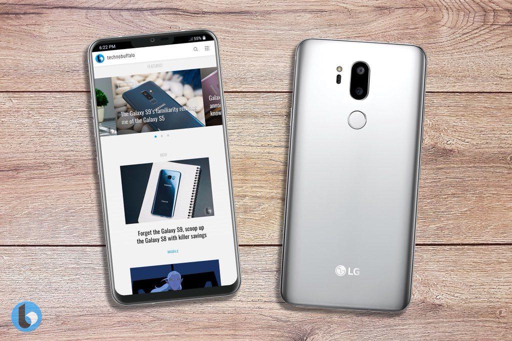 LG G7 Neo render leak