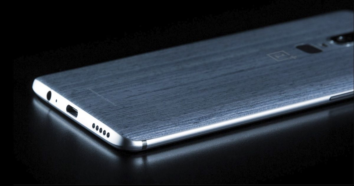OnePlus 6 render FB