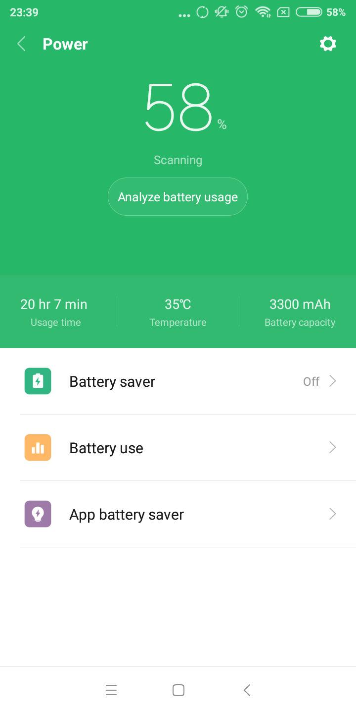 Xiaomi Redmi 5 battery 2