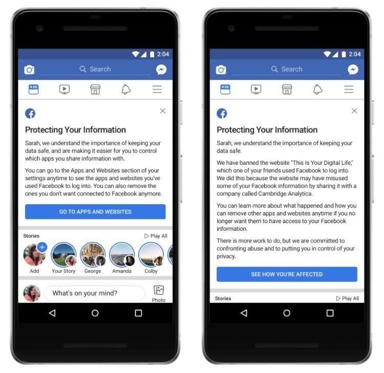 Facebook updates APIs to restrict third-party user data