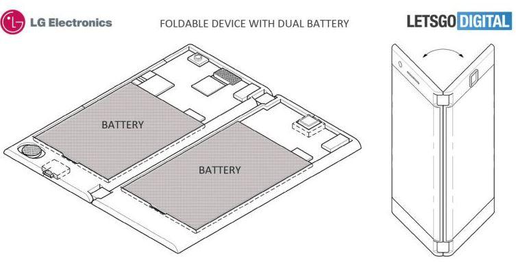 LG foldable patent 1