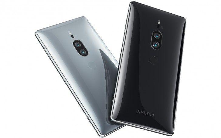 Sony Xperia XZ2 Premium back