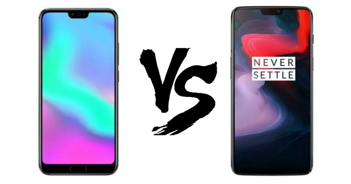 Honor 10 vs OnePlus 6 - Featured