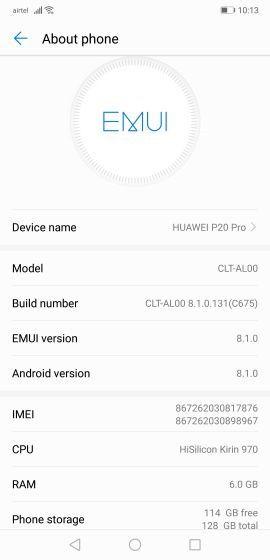 Huawei P20 Pro screenshots - 02
