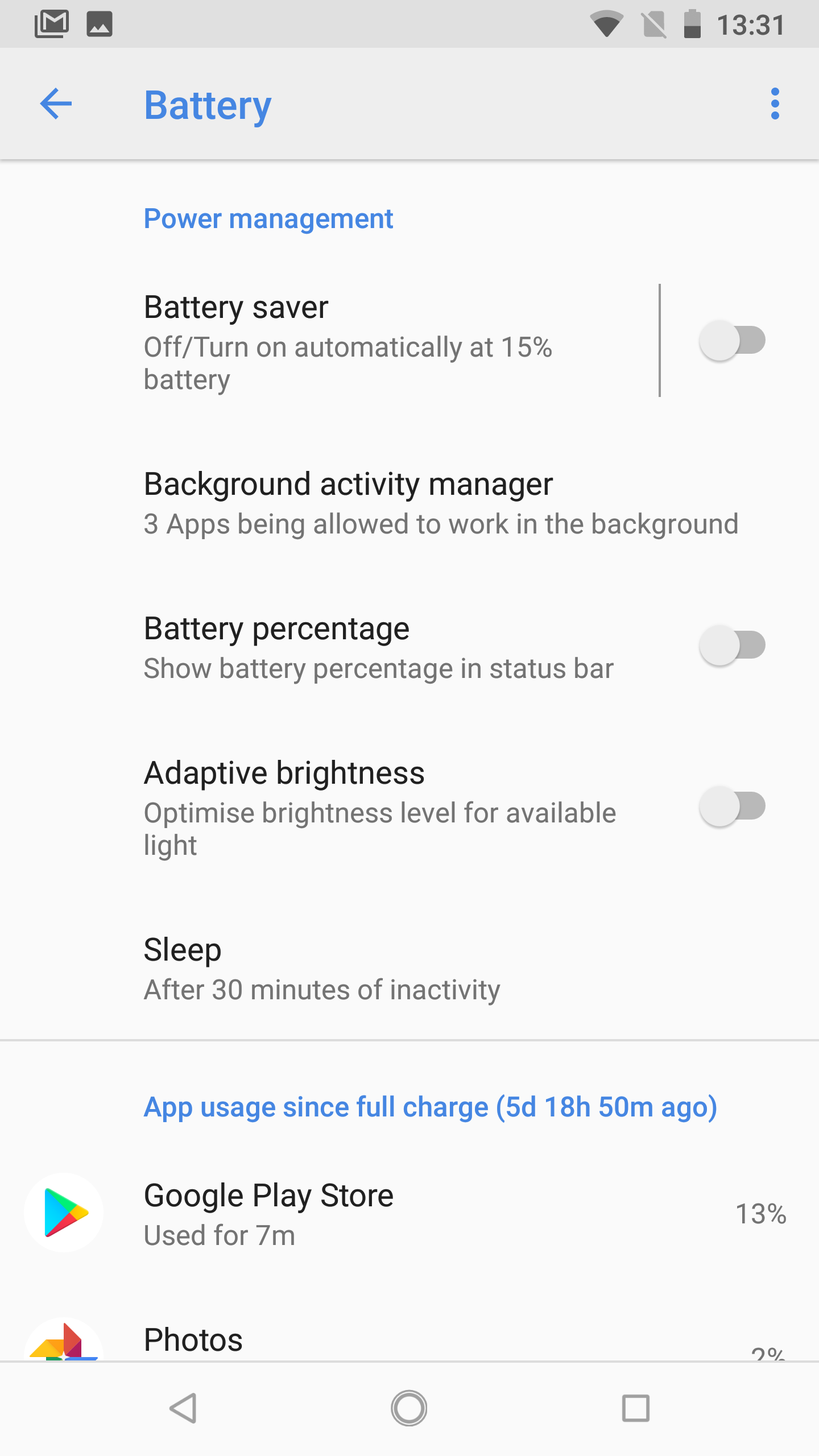 Nokia 8 Sirocco battery 2