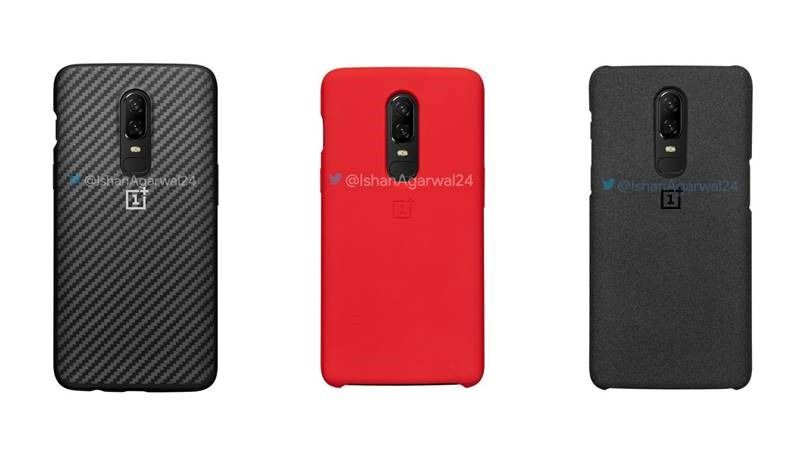 wholesale dealer a9410 738ff OnePlus 6 cases and accessories leaked, prices start from Rs 990 ...