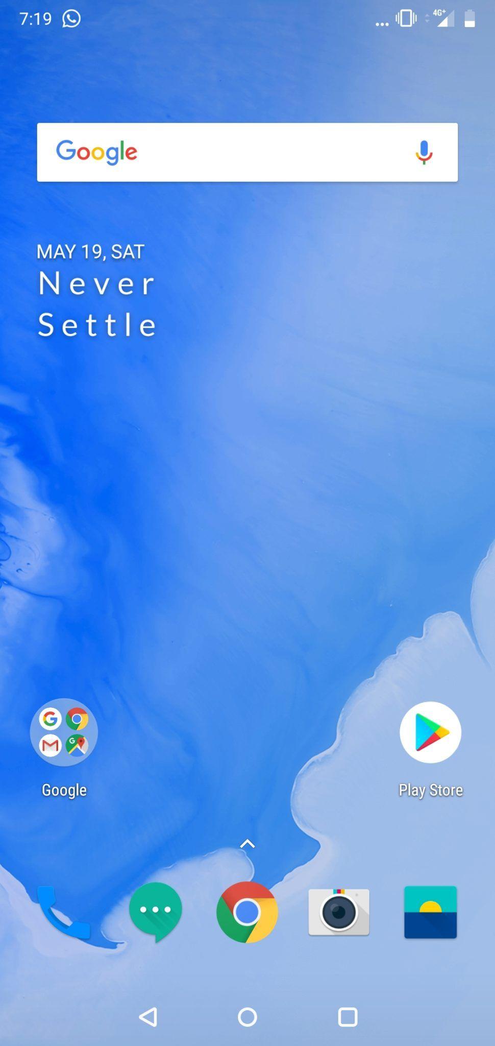 OnePlus 6 UI 1