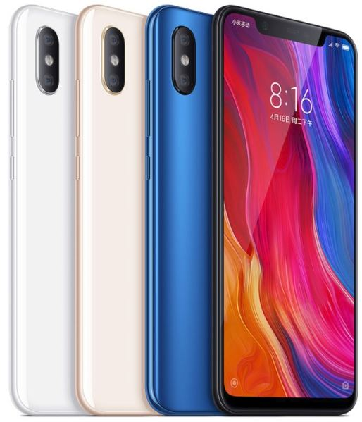 Xiaomi Mi 8 official phone
