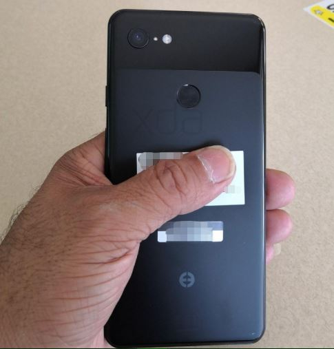 Google Pixel 3 XL back leak