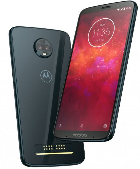 Moto Z3 Play official