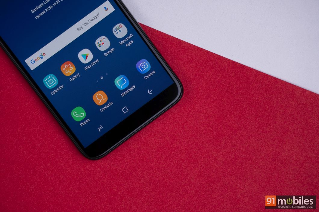 Samsung Galaxy J6 review- 91mobiles 09