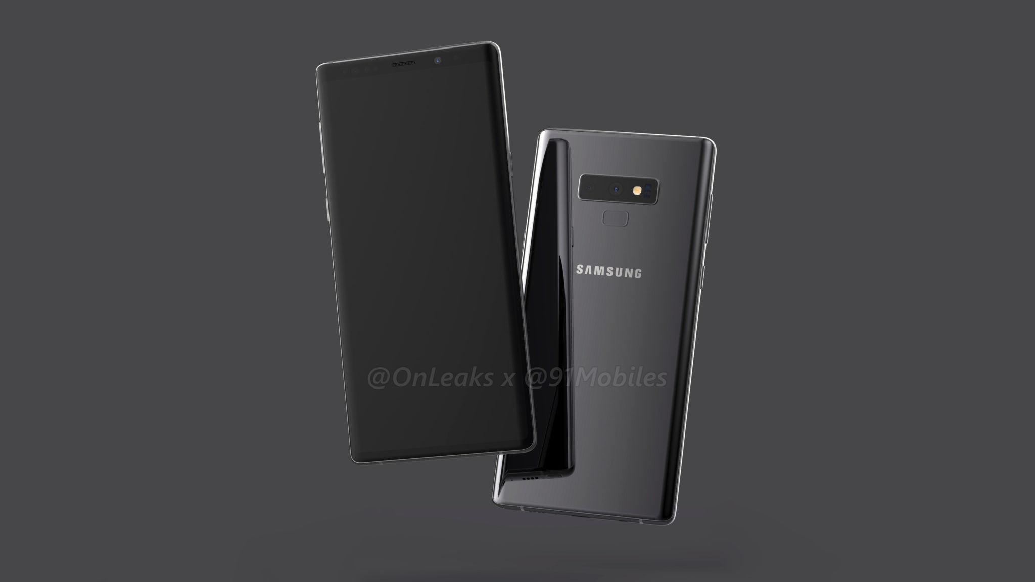 Samsung Galaxy Note 9 4k render - 91mobiles (4)